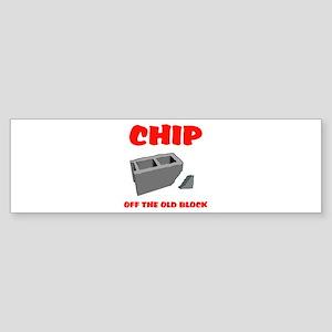CHIP Bumper Sticker
