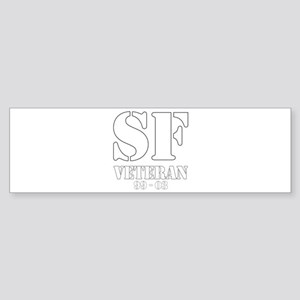 White Bumper Sticker