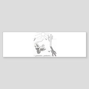 Survival: Graduation Sticker (Bumper)