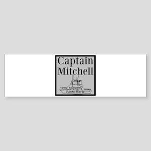 Personalized Captain Sticker (Bumper)