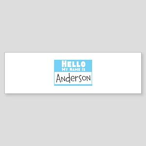 Personalized Name Tag Sticker (Bumper)