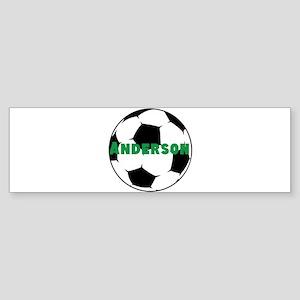 Personalized Soccer Sticker (Bumper)