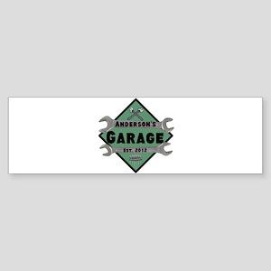 Personalized Garage Sticker (Bumper)