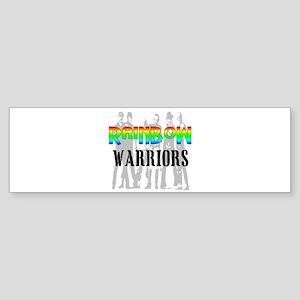 'RAINBOW WARRIORS Bumper Sticker