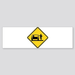 Move Over Jerk Sticker (Bumper)
