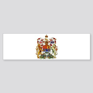 Canadian Royal Coat of Arms Sticker (Bumper)