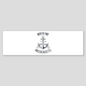 North End, Boston MA Sticker (Bumper)