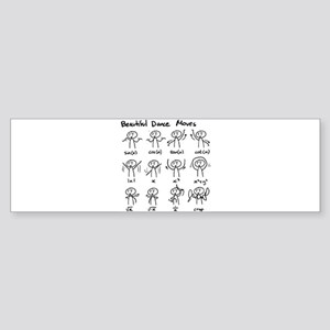 Beautiful (math) dance moves Bumper Sticker