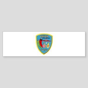 Hatch New Mexico Police Sticker (Bumper)