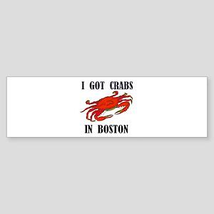 BOSTON CRABS Bumper Sticker