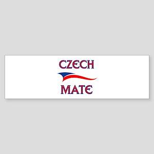 CZECH MATE Bumper Sticker