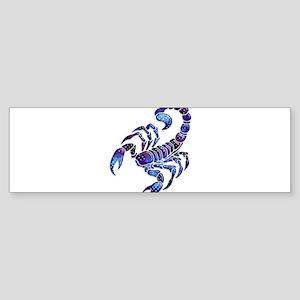 Celestial Rainbow Scorpion Bumper Sticker