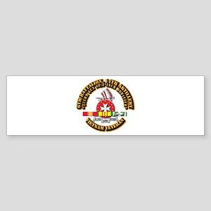 6th Battalion, 14th Artillery Sticker (Bumper)