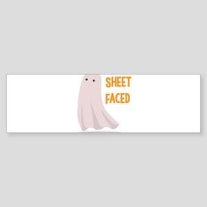 Sheet Faced Bumper Sticker
