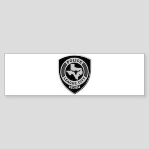 League City Police Bumper Sticker