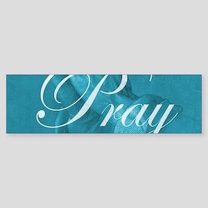 Let Us Pray Bumper Sticker