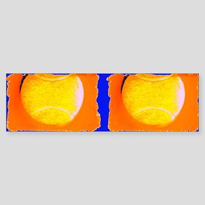 Tennis Cobalt Blue for Leonard Bumper Sticker