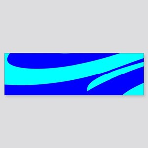 Turquoise Wild Wave Randy's Fave Bumper Sticker