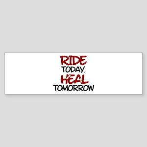 'Heal Tomorrow' Sticker (Bumper)