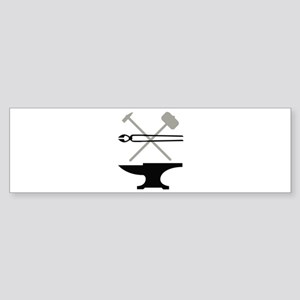 Blacksmith Bumper Sticker