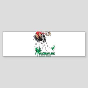 Snowmobile humor Bumper Sticker