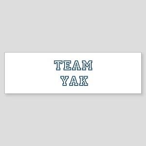 Team Yak Bumper Sticker