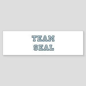 Team Seal Bumper Sticker