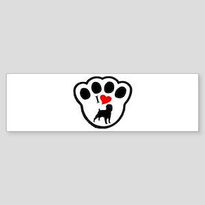 Affenpinscher Bumper Sticker