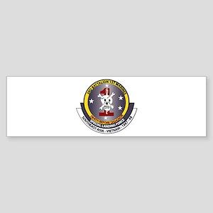 SSI - 3rd Battalion - 1st Marines USMC Sticker (Bu