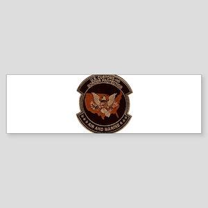 Border Patrol Air and Sea Sticker (Bumper)