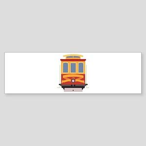 San Francisco Trolley Bumper Sticker