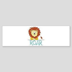 Roar Bumper Sticker