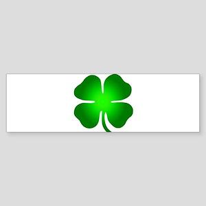 Four Leaf Clover Sticker (Bumper)