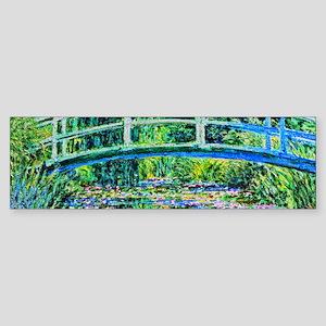 Monet - Water Lily Pond Sticker (Bumper)
