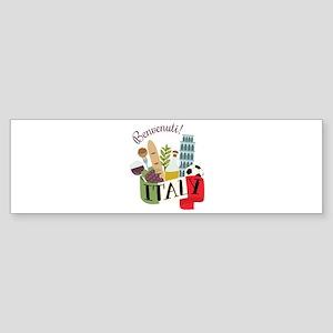 Benvenuti! Italy Bumper Sticker