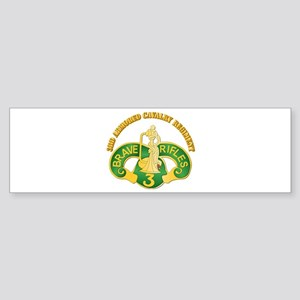 SSI - 3rd Armored Cavalry Rgt w Text Sticker (Bump