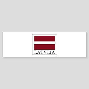 Latvija Bumper Sticker