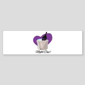 Night Cap Bumper Sticker