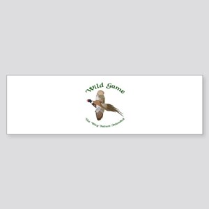Wild Game Bumper Sticker
