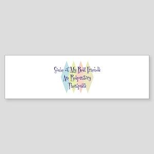 Respiratory Therapists Friends Bumper Sticker