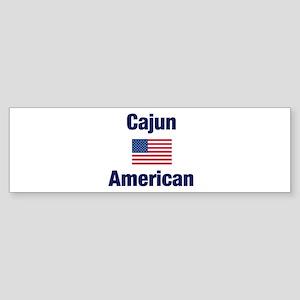 Cajun American Bumper Sticker