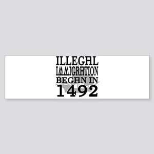 1492 Bumper Sticker