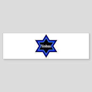Yeshua Star of David Bumper Sticker