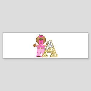 Baby Initials - A Bumper Sticker