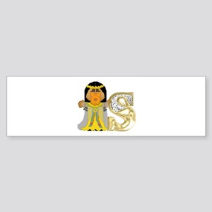 Baby Initials - S Bumper Sticker