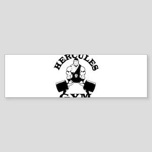 Hercules Gym Bumper Sticker