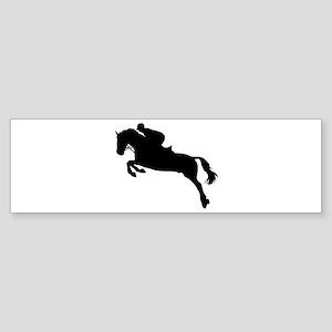 Horse show jumping Sticker (Bumper)