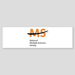 National MS Society Bumper Sticker