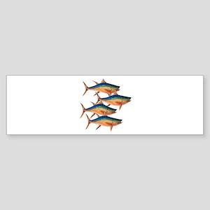 TUNA TIMES Bumper Sticker