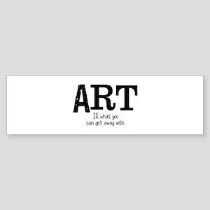 ART is... Sticker (Bumper)